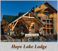 Image result for hope lake lodge