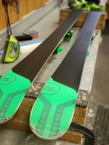 Ski tuning and repair at Greek Peak Mountain