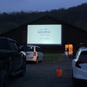 Outdoor Cinema at Greek Peak Mountain Resort