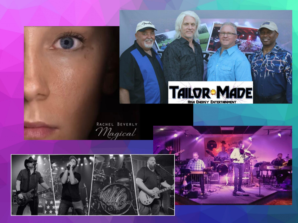 CNY Country Music Festival Bands - Tailor Made -Rachel Beverly Magical - compilations of various bands photos