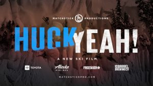 Huck Yeah - part if the iF3 Film Festival at Greek Peak Outdoor Cinema