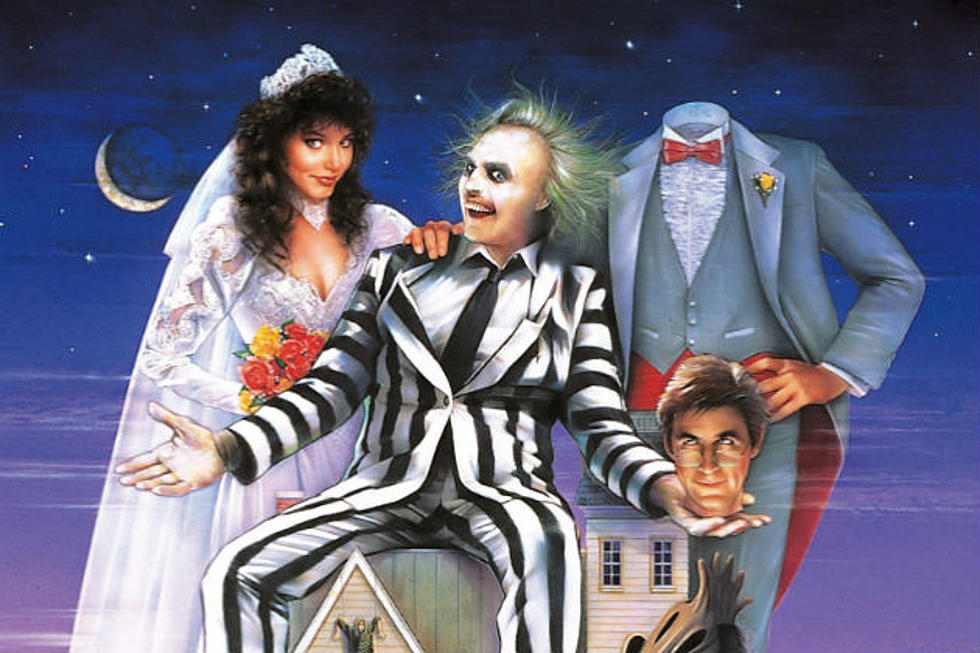 Beetlejuice Movie Poster featuring Beetlejuice and other characters of the movie