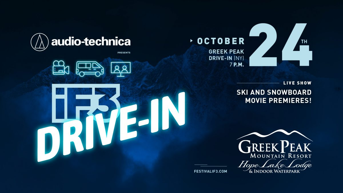 iF3 Drive-In Movie Ski & Snowboarding Film Festival at Greek Peak Mountain Resort